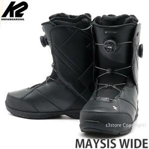 19model ケーツー メイシス ワイド K2 MAYSIS WIDE 18-19 スノーボード SNOWBOARD MENS BOOTS ブーツ メンズ カラー:BLACK|s3store