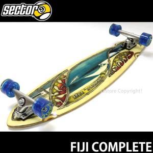 セクターナイン フィジー コンプリート SECTOR 9 FIJI スケートボード 完成品 サーフ オフトレ カラー:Natural/Blue SIZE:9.375