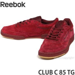 リーボック クラブ シー 85 ティージー REEBOK CLUB C 85 TG スニーカー シューズ メンズ クラシック SNEAKER SHOE MEN カラー:Cバーガンディー/Dレッドガム|s3store