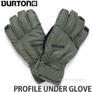 17 バートン プロフィール アンダー グローブ BURTON PROFILE UNDER GLOVE スノーボード メンズ タッチスクリーン対応 男性用 カラー:KEEF UNDERPASS TWILL|s3store