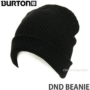 17 バートン ディーエヌディー ビーニー 【BURTON DND BEANIE】 スノーボード メンズ レディース SNOWBOARD MENS WOMENS ルーズフィット カラー:TRUE BLACK|s3store