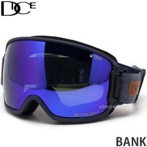 20model ダイス バンク DICE BANK スノーボード ゴーグル スノボ レンズ ミラー SNOW 日本製 フレーム:NV レンズ:MIT Blue/Pola Gray s3store