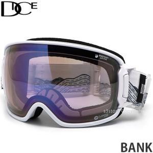 20model ダイス バンク DICE BANK スノーボード ゴーグル 調光 フレーム:WH レンズ:PHOTOCHROMIC/Ice Mirror/ULTRA Light Purple s3store