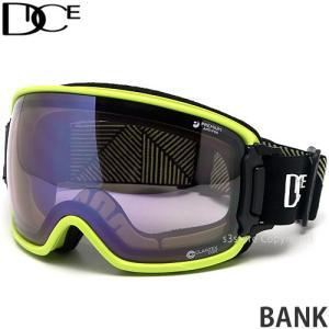 20model ダイス バンク DICE BANK スノーボード ゴーグル 調光 フレーム:YE レンズ:PHOTOCHROMIC/Ice Mirror/ULTRA Light Purple s3store