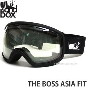 17 サンドボックス ザ ボス アジアンフィット 【SANDBOX THE BOSS ASIA FIT】 国内正規品 スノボ ゴーグル SNOW GOGGLE 15-16 調光 フレーム:M.BLK レンズ:SHIFT s3store