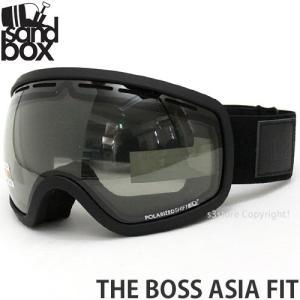 18 サンドボックス ボス アジアンフィット ゴーグル SANDBOX THE BOSS A.F 国内正規品 スノボ Frame:BLACK Lens:POLA PHOTOCHROMIC|s3store