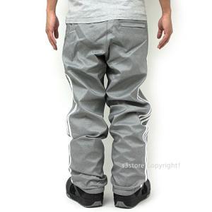 18 アディダス スノーボーディング レイジーマン パンツ adidas Snowboarding LAZY MAN PANT 17-18 スノーボード ウェア col:Heather/White|s3store|02