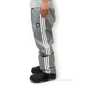 18 アディダス スノーボーディング レイジーマン パンツ adidas Snowboarding LAZY MAN PANT 17-18 スノーボード ウェア col:Heather/White|s3store|03