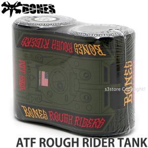 ボーンズ ラフ ライダーズ タンク BONES ATF ROUGH RIDER TANK スケートボード スケボー ウィール SKATEソフト クルージング カラー:Black|s3store