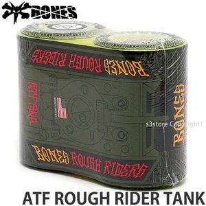 ボーンズ ラフ ライダーズ タンク BONES ATF ROUGH RIDER TANK スケートボード スケボー ウィール SKATEソフト クルージング カラー:Yellow|s3store