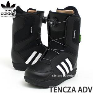 18 アディダス スノーボーディング テンツァ ADV adidas Snowboarding TENCZA ADV 17-18 スノーボード ブーツ BOA col:Black/White/Black