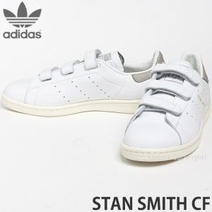 アディダス オリジナルス スタンスミス コンフォート adidas ORIGINALS STAN SMITH CF スニーカー メンズ シューズ ベルクロ カラー:Rホワイト/Cグラナイト|s3store