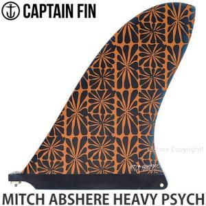 キャプテン フィン CAPTAIN FIN MITCH ABSHERE HEAVY PSYCH サーフィン サーフボード ロングボード シグネチャー カラー:Art サイズ:10|s3store
