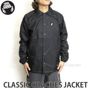 クラブグラブ クラシック コーチ ジャケット 【CRAB GRAB CLASSIC COACHES JACKET】 スノーボード メンズ アウター ウェア アパレル SNOWBOARD カラー:Black