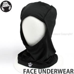 クラブグラブ フェイス アンダーウェア 【CRAB GRAB FACE UNDERWEAR】 スノーボード ビーニー フェイスマスク バラクラバ SNOWBOARD BALACLAVA カラー:Black|s3store