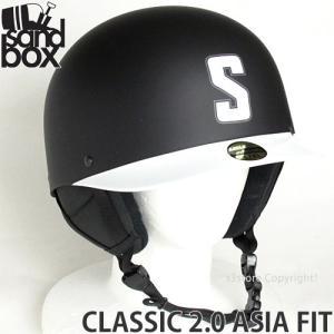 18 サンドボックス クラシック 2.0 アジアンフィット 【SANDBOX CLASSIC 2.0 ASIA FIT】 国内正規品 スノーボード ヘルメット プロテクター カラー:BLACK TEAM s3store