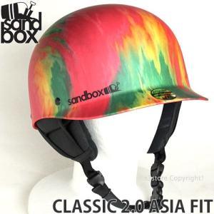 17 サンドボックス クラシック 2.0 アジアンフィット 【SANDBOX CLASSIC 2.0 ASIA FIT】 国内正規品 スノーボード ヘルメット プロテクター SNOW カラー:RASTA s3store