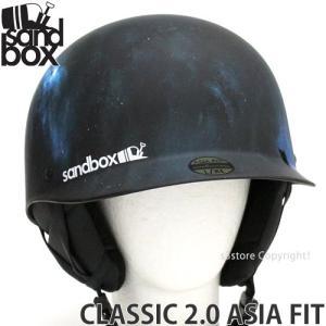 18 サンドボックス クラシック 2.0 アジアンフィット 【SANDBOX CLASSIC 2.0 ASIA FIT】 国内正規品 スノボ ヘルメット カラー:M.SPACEDOUT s3store