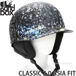 17 サンドボックス クラシック 2.0 アジアンフィット 【SANDBOX CLASSIC 2.0 ASIA FIT】 国内正規品 スノーボード ヘルメット プロテクター カラー:SPLATTER s3store