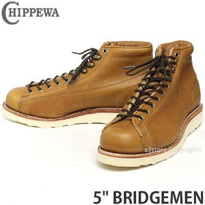 チペワ 5インチ ブリッジマン CHIPPEWA 5inch BRIDGEMEN MADE IN USA メンズ ワークブーツ ビブラム Vibram グッドイヤーウェルト カラー:カッパーカプリス|s3store