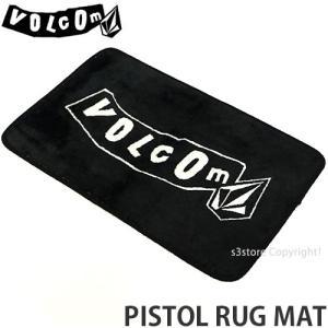 ボルコム ピストル ラグ マット VOLCOM PISTOL RUG MAT カーペット 絨毯 サーフ スケート インテリア 部屋 カラー:Black サイズ:O/S|s3store