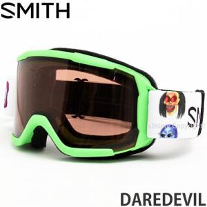 17model スミス デアデビル ゴーグル SMITH DAREDEVIL スノーボード スノボ 子供 フレーム:R CREATURE レンズカラー:RC36|s3store