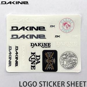 ダカイン ロゴ ステッカー シート DAKINE LOGO STICKER SHEET サーフィン スケボー スノーボード ハワイ シール サイズ:14 x 10.8|s3store