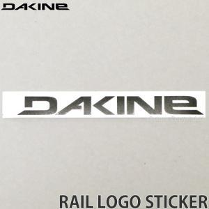 ダカイン レール ステッカー DAKINE RAIL LOGO STICKER サーフィン スケートボード スノーボード シール カラー:BLACK サイズ:17.1 x 2.2|s3store
