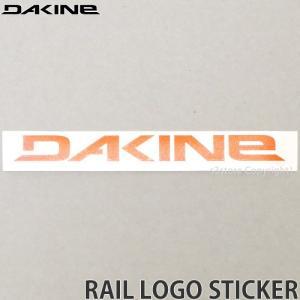 ダカイン レール ステッカー DAKINE RAIL LOGO STICKER サーフィン スケートボード スノーボード シール カラー:ORANGE サイズ:17.1 x 2.2|s3store