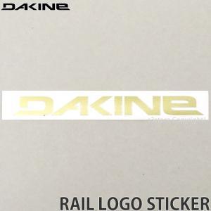 ダカイン レール ステッカー DAKINE RAIL LOGO STICKER サーフィン スケートボード スノーボード シール カラー:GOLD サイズ:17.1 x 2.2|s3store