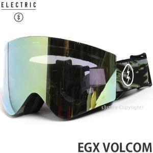 17 エレクトリック EGX アジアンフィット 【ELECTRIC EGX ASIAN FIT】 国内正規品 スノーボード ゴーグル メンズ Frame:VOLCOM ELECTRIC Lens:GREY/GOLD CHROME|s3store