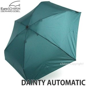 ユーロシルム デインティー オートマチック 【EuroSCHIRM DAINTY AUTOMATIC】 傘 かさ 折り畳み ワンタッチ 自動開閉式 カラー:Green|s3store
