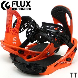 18model フラックス FLUX TT 17-18 2018 スノーボード ビンディング バインディング SNOWBOARD BINDING オールラウンド 初心者 Col:Orange