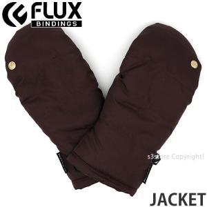 フラックス ジャケット FLUX JACKET 18-19 2019 スノーボード スキー パーク グローブ SNOW 手袋 ミトン ゲレンデ コーデ カラー:Bordeux|s3store