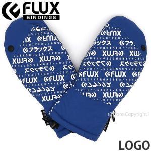 フラックス ロゴ FLUX LOGO 18-19 2019 スノーボード スキー パーク グローブ SNOWBOARD GLOVE 手袋 ミトン ゲレンデ コーデ カラー:Blue|s3store