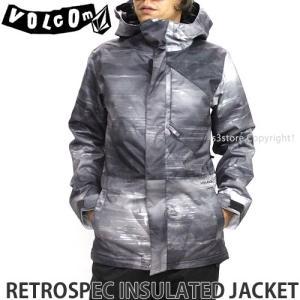 ボルコム レトロスペック インシュレーテッド ジャケット 【VOLCOM RETROSPEC INS. JKT】 スノーボード ウエア メンズ SNOW カラー:GPH|s3store