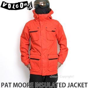 17model ボルコム パットムーア INS ジャケット 【VOLCOM PAT MOORE INS JACKET】 16-17 2017 スノーボード ウエア メンズ SNOWBOARD WEAR MENS カラー:FRE|s3store