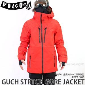 19model ボルコム ゴア ジャケット VOLCOM GUCH STRTCH GORE JACKET 18-19 スノーボード スノボ ウェア メンズ シグネチャー Col:Fred|s3store