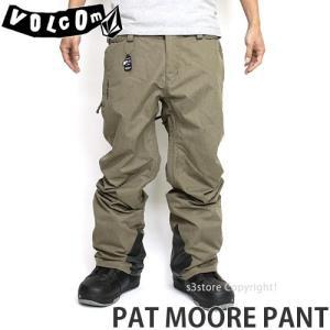 17model ボルコム パットムーア パンツ ウエア VOLCOM PAT MOORE PANT 16-17 2017 スノーボード スノボ メンズ WEAR MEN シグネチャー カラー:TEK|s3store