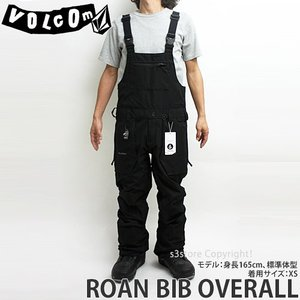 18model ボルコム ロアン ビブオーバーオール ウエア VOLCOM ROAN BIB OVERALL 17-18 2018 スノーボード スノボ パンツ メンズ カラー:BLK|s3store