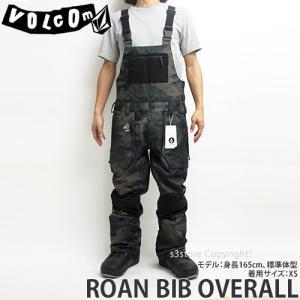 18model ボルコム ロアン ビブオーバーオール ウエア VOLCOM ROAN BIB OVERALL 17-18 2018 スノーボード スノボ パンツ メンズ カラー:CAM|s3store