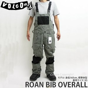 18model ボルコム ロアン ビブオーバーオール ウエア VOLCOM ROAN BIB OVERALL 17-18 2018 スノーボード スノボ パンツ メンズ カラー:CHR|s3store