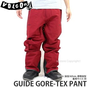 19model ボルコム ゴアテックス パンツ VOLCOM GUIDE GORE-TEX PANT 18-19 スノーボード スノボ スノーウェア パンツ メンズ Col:BlkTandR s3store