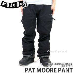 19model ボルコム パット モーア パンツ VOLCOM PAT MOORE PANT 18-19 スノーボード スノボ スノーウェア パンツ メンズ カラー:Black s3store