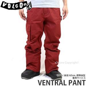 19model ボルコム ベントラル パンツ VOLCOM VENTRAL PANT 18-19 スノーボード スノボ スノーウェア パンツ メンズ カラー:Black TandR|s3store