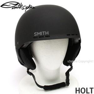 スミス ホルト 【SMITH HOLT】 スノーボード スケート 自転車 BMX ヘルメット プロテクター メンズ SNOWBOARD SKATE HELMET MENS カラー:MATTE BLACK|s3store