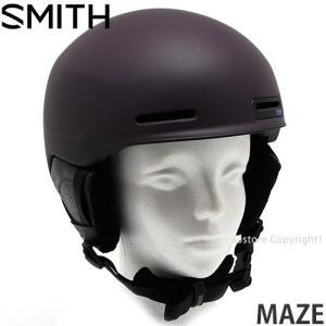 17model スミス メイズ SMITH MAZE スノーボード ヘルメット プロテクター メンズ SNOWBOARD HELMET MENS カラー:MATTE PURPLE CREATURE|s3store