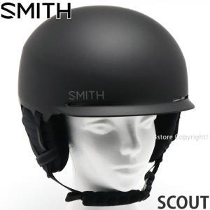 スミス スカウト SMITH SCOUT スノーボード スケート 自転車 BMX 軽量 ヘルメット プロテクター メンズ SNOWBOARD HELMET カラー:MATTE BLK|s3store