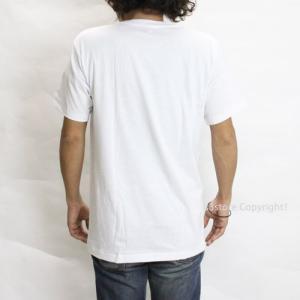 ヘインズ 青ラベル クルーネック ティーシャツ HANES BLUE LABEL CREW NECK T-SHIRT アパレル Tシャツ コットンポリエステル 半袖 丸首 メンズ カラー:White|s3store|02