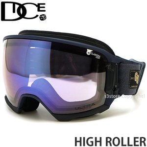 19model ダイス ハイ ローラー DICE HIGH ROLLER スノボ ゴーグル 日本製 フレームカラー:MNV レンズカラー:Ice Mirror/ULTRA Light Purple s3store